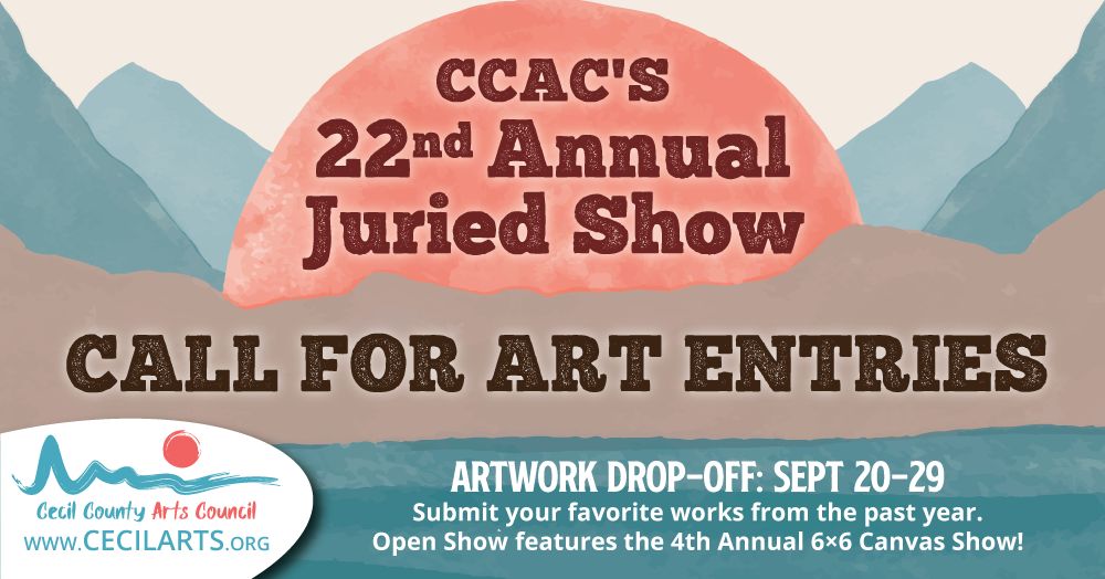 CCAC's 22nd Annual Juried Show – Call for Entries!