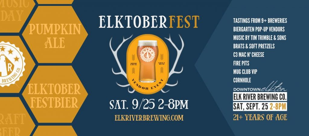 Elktoberfest at Elk River Brewery!