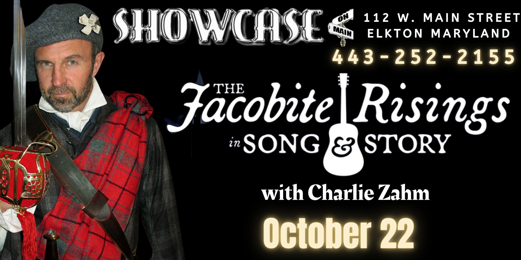 Jacobite Rising in Song & Story with Charlie Zahm