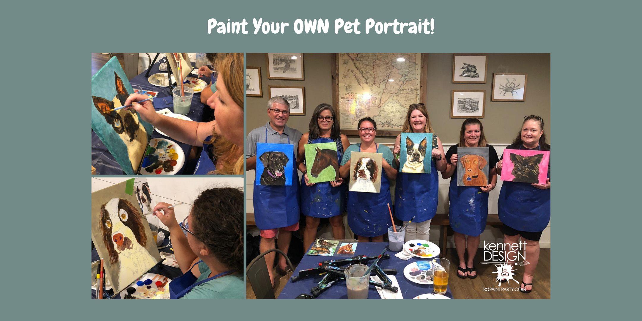 Paint Your Own Pet Portrait