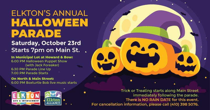 Elkton's Annual Halloween Parade - Elkton Maryland - Arts District